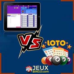 bingo en ligne vs loterie